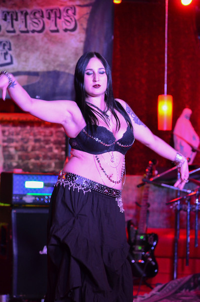 Belly Dancer Starving Artists on Parade