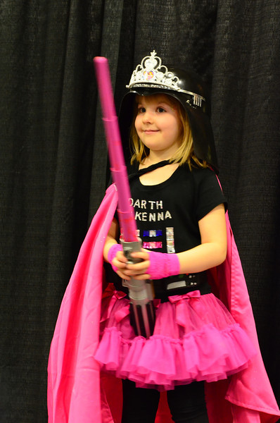 Geek Girl Con 2012 Darth McKenna