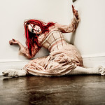 Broken Doll Horror Themed photo shoot
