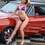 Rebel Model in a Bikini with a hot charger