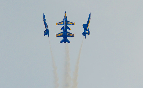 Seafair 2014 Blue Angels Practice Run